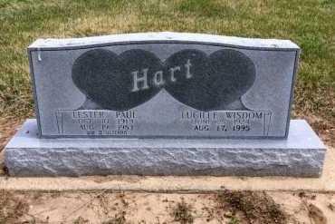 WISDOM HART, LUCILLE - Clay County, Arkansas | LUCILLE WISDOM HART - Arkansas Gravestone Photos