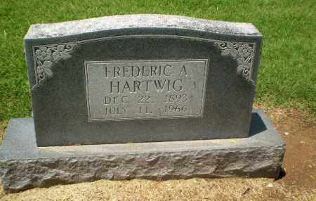 HARTWIG, FREDERIC A - Clay County, Arkansas   FREDERIC A HARTWIG - Arkansas Gravestone Photos