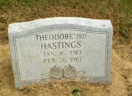"""HASTINGS, THEODORE """"TED"""" - Clay County, Arkansas 