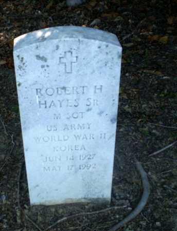 HAYES   (VETERAN 2 WARS), ROBERT H - Clay County, Arkansas | ROBERT H HAYES   (VETERAN 2 WARS) - Arkansas Gravestone Photos