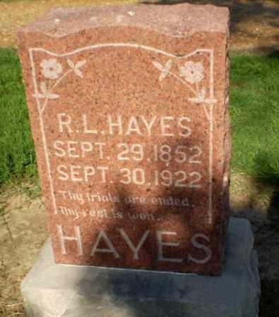 HAYES, R.L. - Clay County, Arkansas | R.L. HAYES - Arkansas Gravestone Photos
