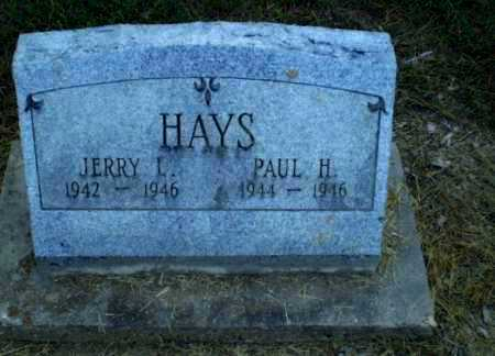 HAYS, JERRY L - Clay County, Arkansas | JERRY L HAYS - Arkansas Gravestone Photos