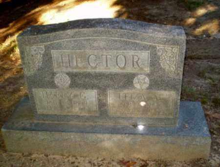 HECTOR  (VETERAN WWI), HARRY G - Clay County, Arkansas | HARRY G HECTOR  (VETERAN WWI) - Arkansas Gravestone Photos