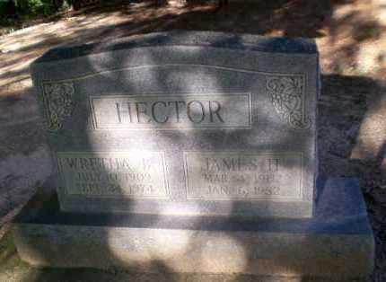 HECTOR, JAMES H - Clay County, Arkansas   JAMES H HECTOR - Arkansas Gravestone Photos