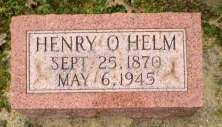 HELM, HENRY O. - Clay County, Arkansas   HENRY O. HELM - Arkansas Gravestone Photos