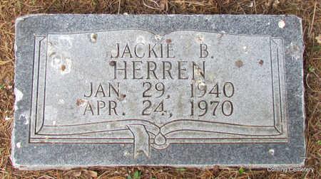 HERREN, JACKIE BRYCE - Clay County, Arkansas   JACKIE BRYCE HERREN - Arkansas Gravestone Photos