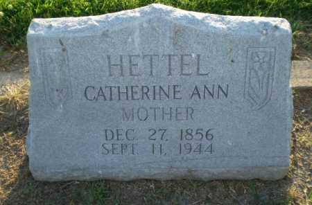 HETTEL, CATHERINE ANN - Clay County, Arkansas | CATHERINE ANN HETTEL - Arkansas Gravestone Photos