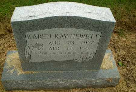 HEWETT, KAREN KAY - Clay County, Arkansas | KAREN KAY HEWETT - Arkansas Gravestone Photos