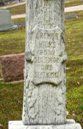 HICKS, ARTHUR (CLOSE UP) - Clay County, Arkansas | ARTHUR (CLOSE UP) HICKS - Arkansas Gravestone Photos