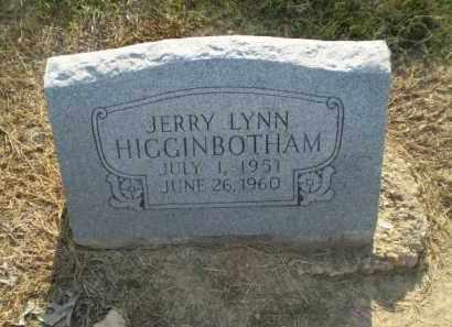 HIGGINBOTHAM, JERRY LYNN - Clay County, Arkansas | JERRY LYNN HIGGINBOTHAM - Arkansas Gravestone Photos