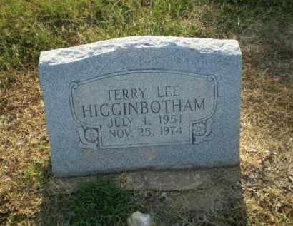 HIGGINBOTHAM, TERRY LEE - Clay County, Arkansas | TERRY LEE HIGGINBOTHAM - Arkansas Gravestone Photos