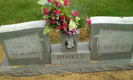 HINKLE, JESS G - Clay County, Arkansas | JESS G HINKLE - Arkansas Gravestone Photos