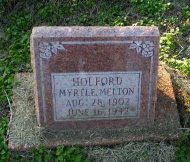 MELTON HOLFORD, MYRTLE - Clay County, Arkansas | MYRTLE MELTON HOLFORD - Arkansas Gravestone Photos
