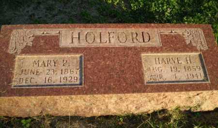 HOLFORD, MARY P - Clay County, Arkansas | MARY P HOLFORD - Arkansas Gravestone Photos