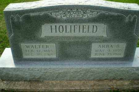 HOLIFIELD, WALTER - Clay County, Arkansas   WALTER HOLIFIELD - Arkansas Gravestone Photos