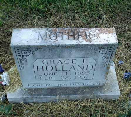 HOLLAND, GRACE E - Clay County, Arkansas | GRACE E HOLLAND - Arkansas Gravestone Photos