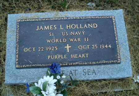 HOLLAND (VETERAN WWII, KIA), JAMES L - Clay County, Arkansas | JAMES L HOLLAND (VETERAN WWII, KIA) - Arkansas Gravestone Photos