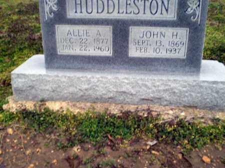 HUDDLESTON, JOHN H. - Clay County, Arkansas | JOHN H. HUDDLESTON - Arkansas Gravestone Photos