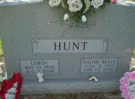 HUNT, LEROY - Clay County, Arkansas   LEROY HUNT - Arkansas Gravestone Photos