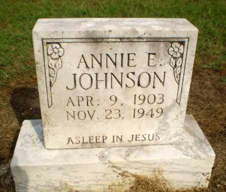 JOHNSON, ANNIE E - Clay County, Arkansas | ANNIE E JOHNSON - Arkansas Gravestone Photos