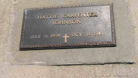 JOHNSON, HATTIE - Clay County, Arkansas | HATTIE JOHNSON - Arkansas Gravestone Photos