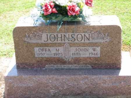 JOHNSON, JOHN W. - Clay County, Arkansas | JOHN W. JOHNSON - Arkansas Gravestone Photos