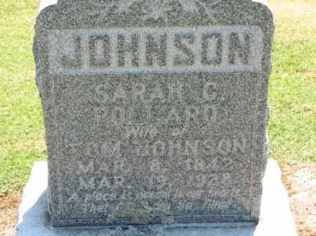 POLLARD JOHNSON, SARAH C. - Clay County, Arkansas | SARAH C. POLLARD JOHNSON - Arkansas Gravestone Photos