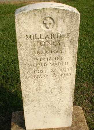 JONES  (VETERAN WWII KIA), MILLARD F - Clay County, Arkansas | MILLARD F JONES  (VETERAN WWII KIA) - Arkansas Gravestone Photos