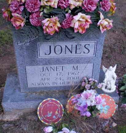 JONES, JANET M - Clay County, Arkansas | JANET M JONES - Arkansas Gravestone Photos
