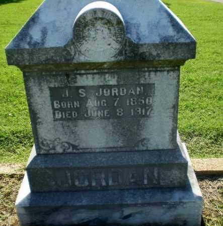 JORDAN, J.S. - Clay County, Arkansas | J.S. JORDAN - Arkansas Gravestone Photos
