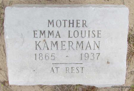 KAMERMAN, EMMA LOUISE - Clay County, Arkansas | EMMA LOUISE KAMERMAN - Arkansas Gravestone Photos