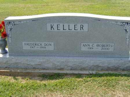 KELLER, FREDRICK DON - Clay County, Arkansas   FREDRICK DON KELLER - Arkansas Gravestone Photos