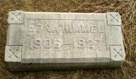 KIMMEL, EDNA - Clay County, Arkansas   EDNA KIMMEL - Arkansas Gravestone Photos