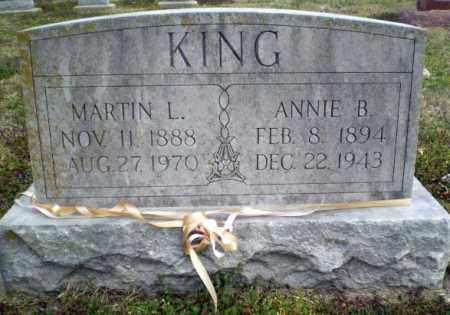 KING, ANNIE B. - Clay County, Arkansas | ANNIE B. KING - Arkansas Gravestone Photos
