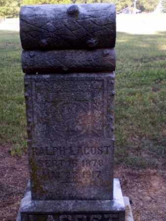 LACOST, RALPH A - Clay County, Arkansas   RALPH A LACOST - Arkansas Gravestone Photos