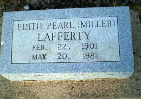 MILLER LAFFERTY, EDITH PEARL - Clay County, Arkansas | EDITH PEARL MILLER LAFFERTY - Arkansas Gravestone Photos