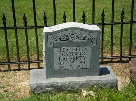 HARTWIG LAFFERTY, ELSA HELEN - Clay County, Arkansas | ELSA HELEN HARTWIG LAFFERTY - Arkansas Gravestone Photos