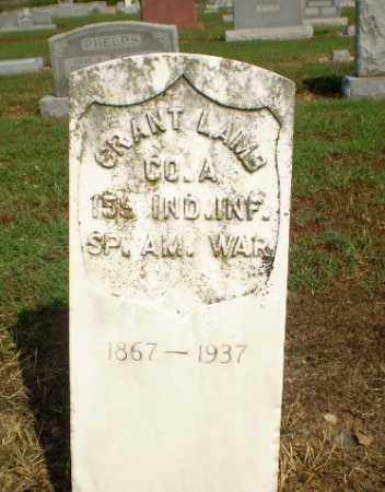 LAMB  (VETERAN SAW), GRANT - Clay County, Arkansas | GRANT LAMB  (VETERAN SAW) - Arkansas Gravestone Photos