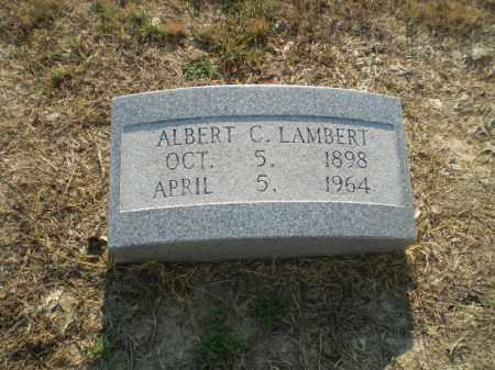 LAMBERT, ALBERT C - Clay County, Arkansas | ALBERT C LAMBERT - Arkansas Gravestone Photos