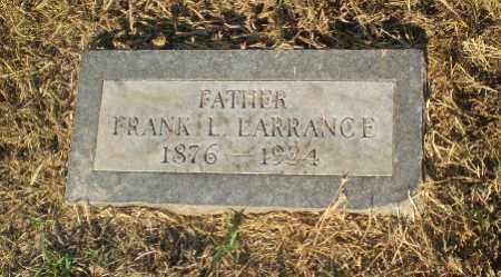 LARRANCE, FRANK L - Clay County, Arkansas   FRANK L LARRANCE - Arkansas Gravestone Photos