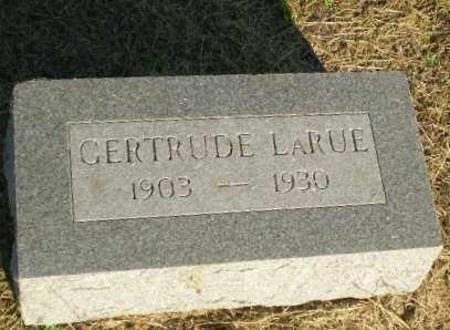 LARUE, GERTRUDE - Clay County, Arkansas | GERTRUDE LARUE - Arkansas Gravestone Photos