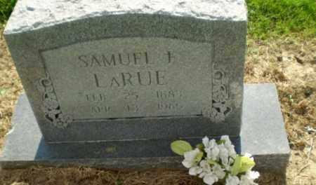 LARUE, SAMUEL F - Clay County, Arkansas | SAMUEL F LARUE - Arkansas Gravestone Photos