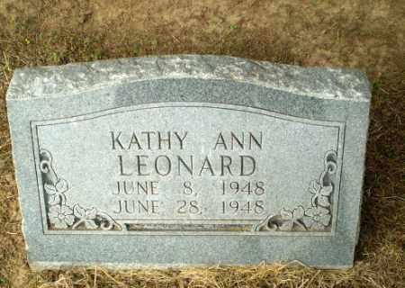 LEONARD, KATHY ANN (INFANT) - Clay County, Arkansas | KATHY ANN (INFANT) LEONARD - Arkansas Gravestone Photos