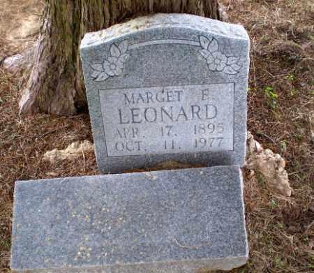 LEONARD, MARGET - Clay County, Arkansas | MARGET LEONARD - Arkansas Gravestone Photos
