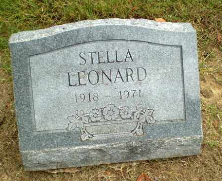 LEONARD, STELLA - Clay County, Arkansas | STELLA LEONARD - Arkansas Gravestone Photos
