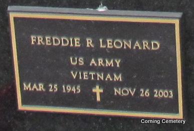 LEONARD (VETERAN VIET), FREDDIE R - Clay County, Arkansas | FREDDIE R LEONARD (VETERAN VIET) - Arkansas Gravestone Photos