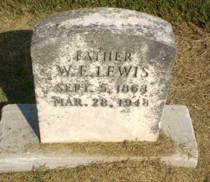 LEWIS, W.E. - Clay County, Arkansas | W.E. LEWIS - Arkansas Gravestone Photos