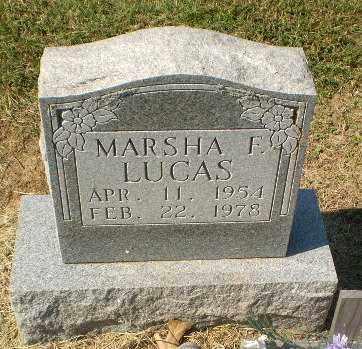 LUCAS, MARSHA F - Clay County, Arkansas   MARSHA F LUCAS - Arkansas Gravestone Photos