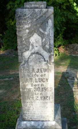 LUCY, A.J. - Clay County, Arkansas | A.J. LUCY - Arkansas Gravestone Photos