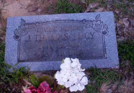 LUCY, J. THOMAS - Clay County, Arkansas | J. THOMAS LUCY - Arkansas Gravestone Photos